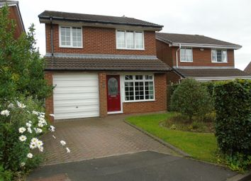 Thumbnail 3 bed detached house for sale in Lancaster Drive, Wallsend