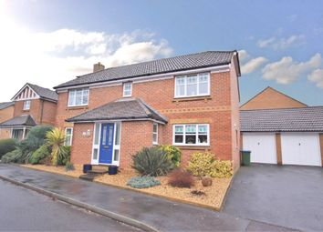 Thumbnail 4 bed detached house for sale in Dickens Drive, Whiteley, Fareham