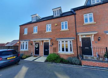 Thumbnail 3 bed town house for sale in Rook Avenue, Staffordshire, Burton-On-Trent