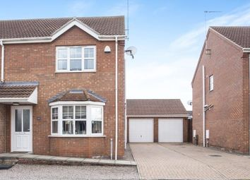 Thumbnail 3 bedroom semi-detached house for sale in Outwell, Wisbech, Norfolk
