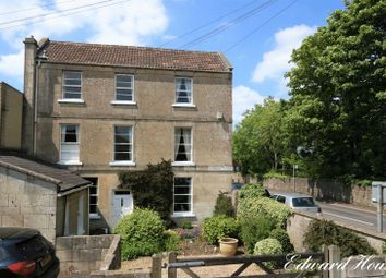 Thumbnail 3 bedroom end terrace house for sale in North Road, Combe Down, Bath