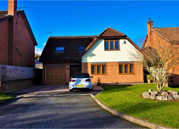 Thumbnail 3 bed detached house for sale in The Pines, Hawarden