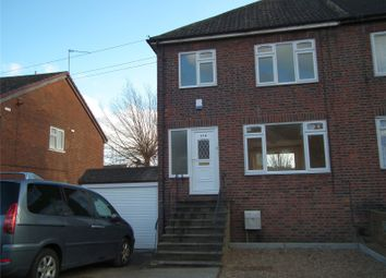 Thumbnail 3 bed semi-detached house for sale in Overton Road, Abbeywood, London