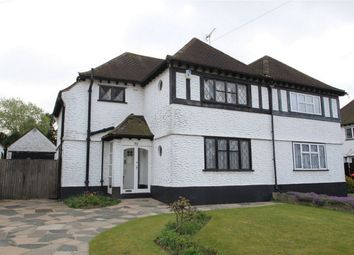 Thumbnail 3 bed semi-detached house for sale in Priory Avenue, Petts Wood, Orpington, Kent