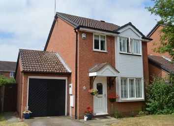 Thumbnail 3 bed detached house for sale in Bromford Close, Little Billing, Northampton
