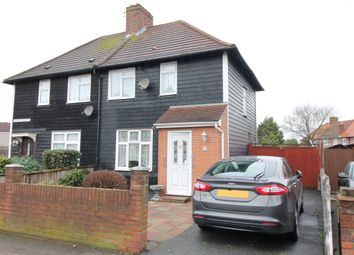 2 bed semi-detached house for sale in Walnut Tree, Dagenham, Essex RM8