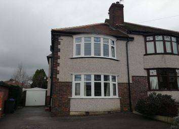 Thumbnail 3 bed semi-detached house to rent in Oliver Road, Sheffield
