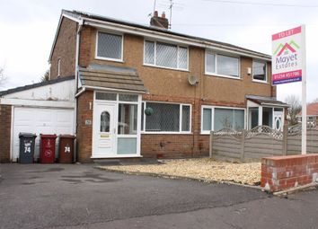 Thumbnail 3 bed semi-detached house to rent in Rhodes Avenue, Blackburn
