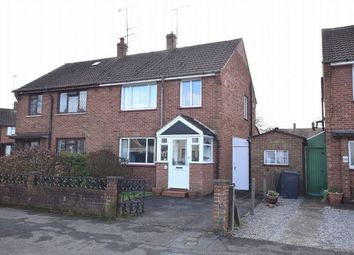 Thumbnail 3 bed semi-detached house for sale in Murrells Lane, Camberley, Surrey