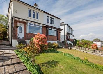 Thumbnail 2 bed semi-detached house for sale in Reservoir Road, Gourock, Inverclyde