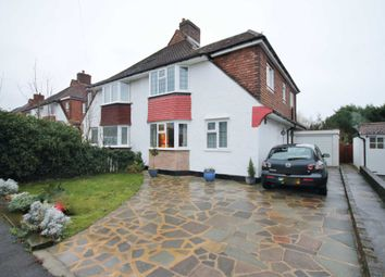 Thumbnail 4 bed semi-detached house for sale in Knightwood Crescent, New Malden