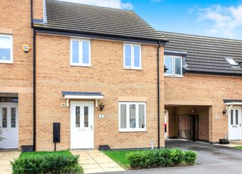 Thumbnail 3 bed terraced house for sale in Fletcher Way, Gunthorpe, Peterborough