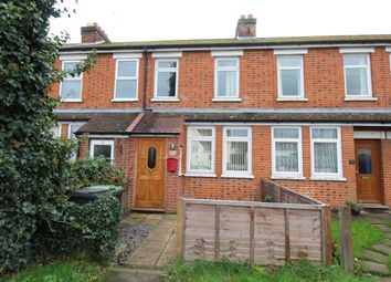 Thumbnail 3 bed terraced house for sale in Station Road, Claydon, Ipswich