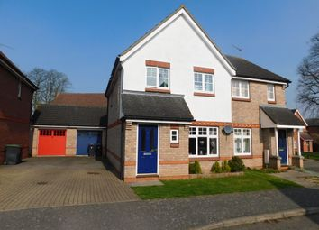 Thumbnail 3 bedroom semi-detached house for sale in Eastward Place, Stowmarket