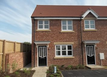 Thumbnail 3 bed semi-detached house to rent in Brewster Road, Gainsborough