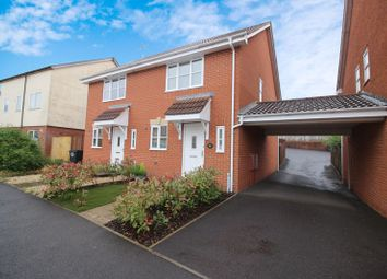 Thumbnail 2 bed semi-detached house for sale in Manning Road, Cotford St. Luke, Taunton