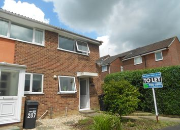 Thumbnail 2 bed semi-detached house to rent in Cavalier Way, Yeovil