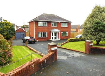 Thumbnail 3 bed detached house for sale in Gwscwm Road, Burry Port, Carmarthenshire.