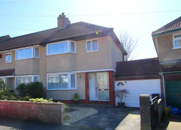 Thumbnail 3 bed semi-detached house for sale in Beckington Road, Knowle, Bristol