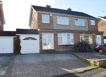 Thumbnail 3 bed semi-detached house to rent in Arlington Gardens, Harold Wood, Romford