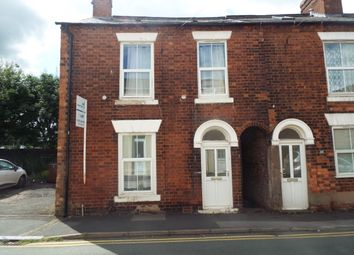 Thumbnail 2 bed end terrace house to rent in Telegraph Street, Stafford