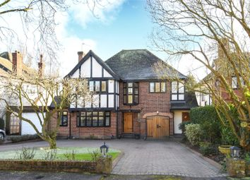 Thumbnail 4 bed detached house for sale in Meadow Way, Chigwell, Essex