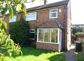 Thumbnail 3 bedroom semi-detached house for sale in Shanklin Close, Chorlton, Manchester