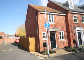 Thumbnail 2 bed end terrace house for sale in Pach Way, Fernwood, Newark, Nottinghamshire.