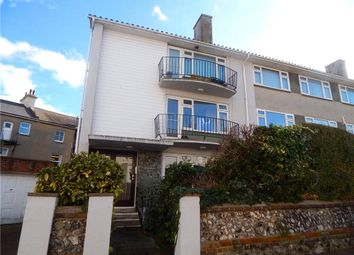 Thumbnail 3 bedroom flat for sale in Aldenham Court, West Terrace, Eastbourne