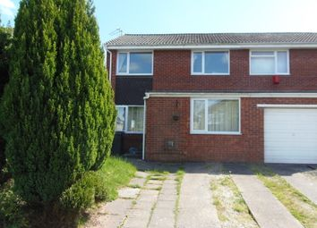 Thumbnail 3 bed semi-detached house for sale in Forsythia Drive, Cardiff, Cardiff