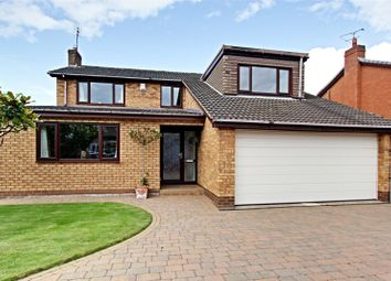 Thumbnail 4 bed detached house for sale in Ashdale Park, North Ferriby, East Yorkshire