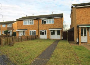 Thumbnail 3 bed semi-detached house for sale in Therfield Walk, Houghton Regis, Dunstable