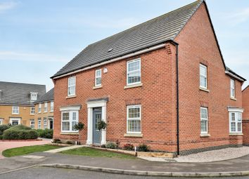 Thumbnail 4 bed detached house for sale in Lofthouse Way, Longstanton, Cambridge