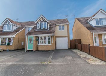 Thumbnail 3 bed semi-detached house for sale in Lancelot Close, Leicester