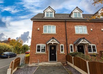Thumbnail 3 bed town house for sale in 7 Lowerfield Gardens, Warrington