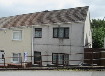 Thumbnail 3 bedroom end terrace house for sale in Waun Road, Morriston, Swansea.