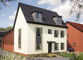 "Thumbnail 5 bed link-detached house for sale in ""The Woolstone"" at Barrosa Way, Whitehouse, Milton Keynes"