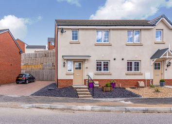 Thumbnail 2 bed semi-detached house for sale in Highfields, Coedely, Tonyrefail
