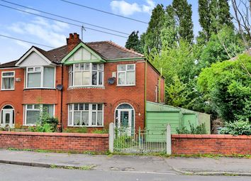 Thumbnail 3 bed semi-detached house for sale in Kent Road West, Manchester, Greater Manchester