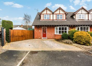 Thumbnail 3 bed semi-detached house for sale in 18 Rye Close, Stoke-On-Trent