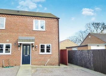 Thumbnail 2 bedroom end terrace house to rent in West End, Gorefield, Wisbech
