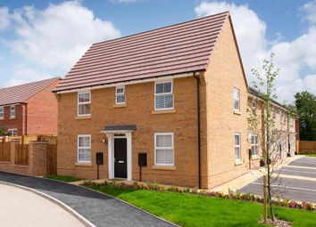 "Thumbnail 3 bed end terrace house for sale in ""Hadley"" at Wyles Way, Stamford Bridge, York"