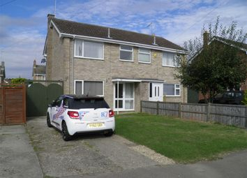 Thumbnail 3 bed semi-detached house to rent in Saxon Way, Bourne, Lincolnshire