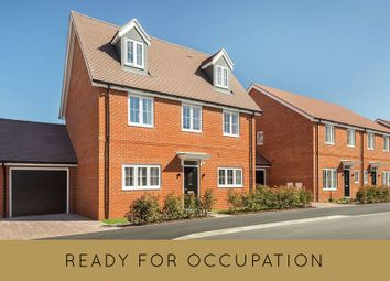 "Thumbnail 4 bedroom detached house for sale in ""The Oatfield"" at Weston Road, Aston Clinton, Aylesbury"