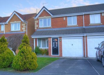 Thumbnail 3 bed semi-detached house for sale in Featherstone Grove, Bedlington