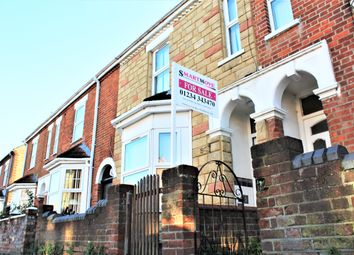Thumbnail 3 bed terraced house for sale in Honeyhill Road, Queens Park, Bedford