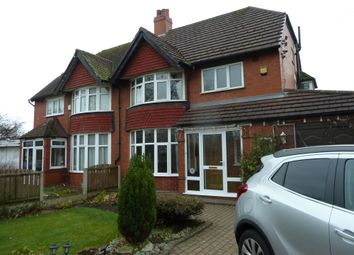 Thumbnail 4 bed semi-detached house to rent in Dean Lane, Hazel Grove, Stockport