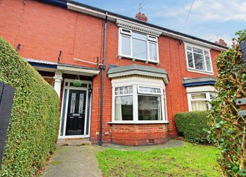 Thumbnail 3 bed terraced house for sale in Tranby Avenue, Hessle