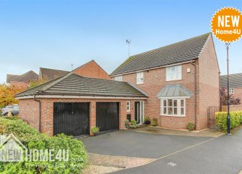 Thumbnail 4 bed detached house for sale in Roscommon Way, Widnes