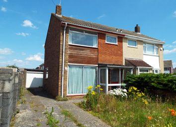 Thumbnail 3 bedroom semi-detached house for sale in 223 Harrington Road, Stockwood, Bristol, Bristol